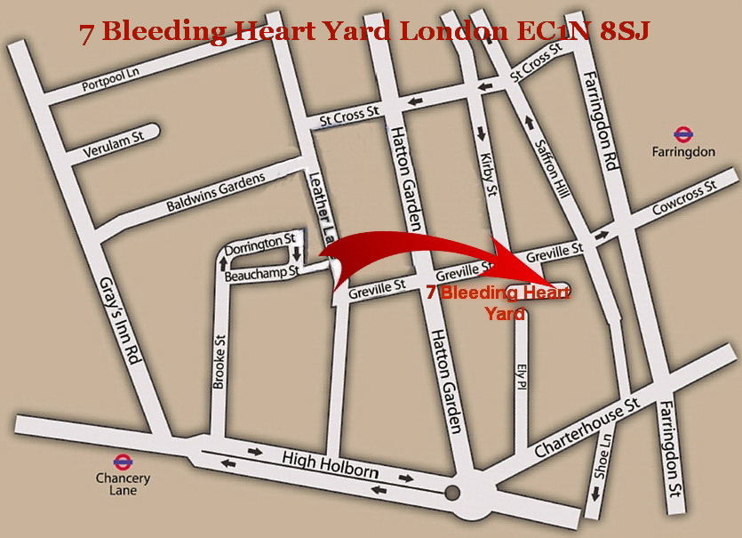 7 Bleeding Heart Yard EC1N8SJ
